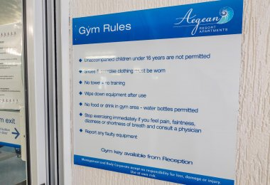 Aegean Apartments Gym